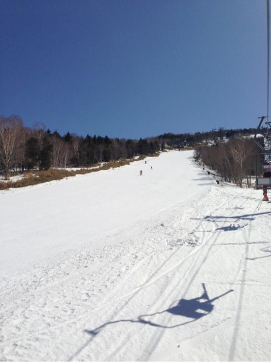 春スキーのゲレンデ状態|ハンターマウンテン塩原のクチコミ画像