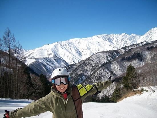 景色が最高|白馬岩岳スノーフィールドのクチコミ画像