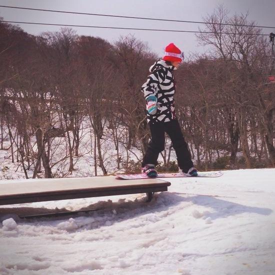 先シーズンのクローズ直前に行ったんだけど|たんばらスキーパークのクチコミ画像