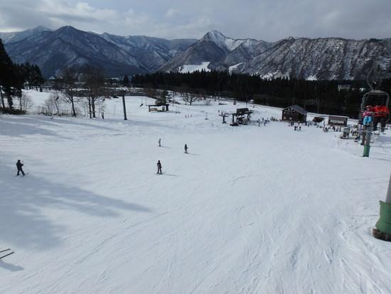 雪はそこそこあります|湯沢中里スノーリゾートのクチコミ画像
