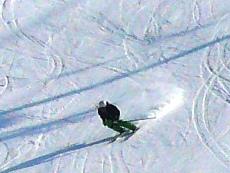 雪が少ないながらがんばっています。|信州松本 野麦峠スキー場のクチコミ画像