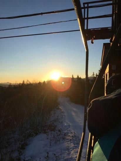 元旦スキー 初日の出|菅平パインビークスキー場のクチコミ画像