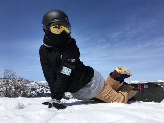 渾身のセクシーポーズ|会津高原南郷スキー場のクチコミ画像
