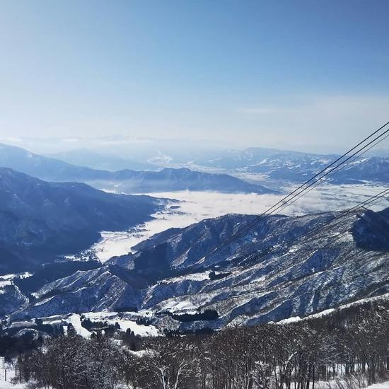 初日からゲレンデほぼ全部滑走|六日町八海山スキー場のクチコミ画像