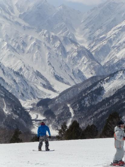 すばらしい景色|白馬岩岳スノーフィールドのクチコミ画像3