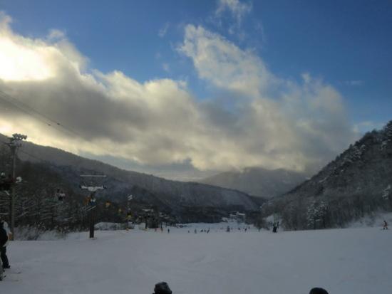 リフトから流れる音楽が良いです♪|竜王スキーパークのクチコミ画像