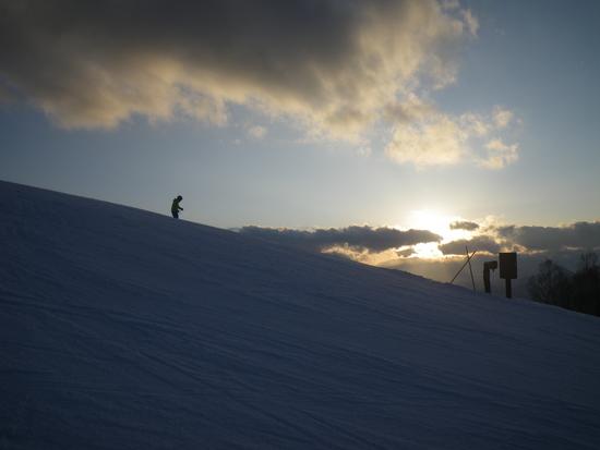 サンセットを眺めながら|戸隠スキー場のクチコミ画像
