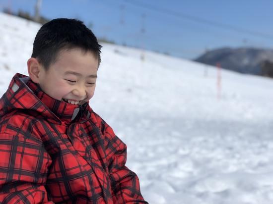 雪山でジャンプ!!|アップかんなべのクチコミ画像2
