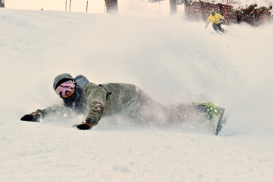 パウダーを全身で|白馬八方尾根スキー場のクチコミ画像