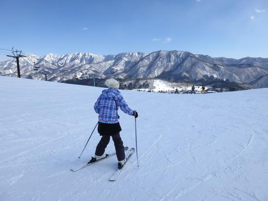 スキー初体験!|栂池高原スキー場のクチコミ画像