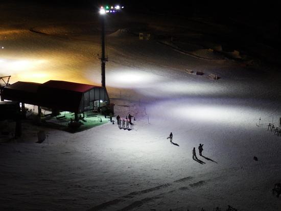 ナイター、そろそろ引き上げようか・・・|白馬コルチナスキー場のクチコミ画像