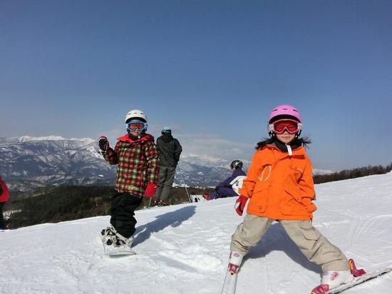 今シーズンの初すべり|鷲ヶ岳スキー場のクチコミ画像