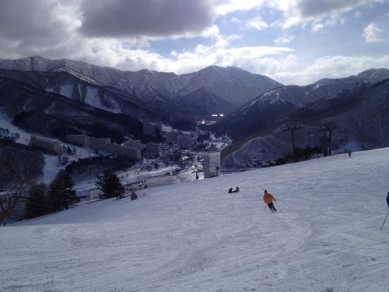 ドラゴンドラで縦走|苗場スキー場のクチコミ画像