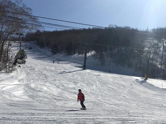 初めてのスノーボード|川場スキー場のクチコミ画像
