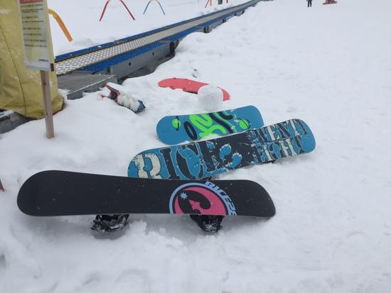 親子で楽しめる。|池の平温泉スキー場のクチコミ画像