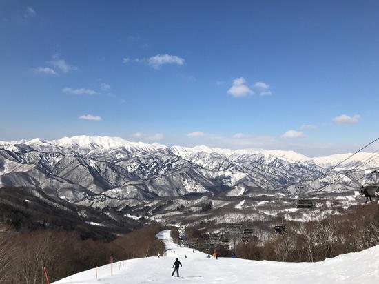 1月快晴の週末は久しぶりです|水上宝台樹スキー場のクチコミ画像