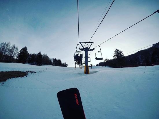 朝一バーンが最高|丸沼高原スキー場のクチコミ画像