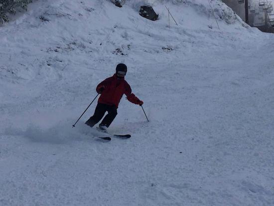 圧雪していないゲレンデに苦戦!|タングラムスキーサーカスのクチコミ画像