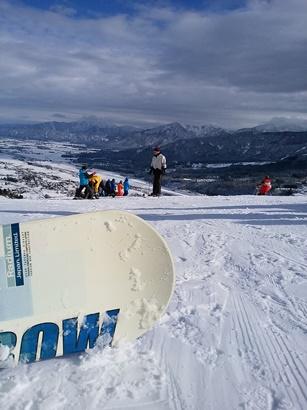 コースが広々|石打丸山スキー場のクチコミ画像