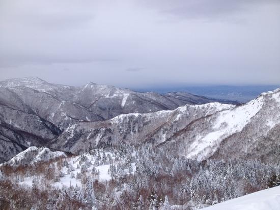 落ち着いてじっくり滑れます|志賀高原 熊の湯スキー場のクチコミ画像