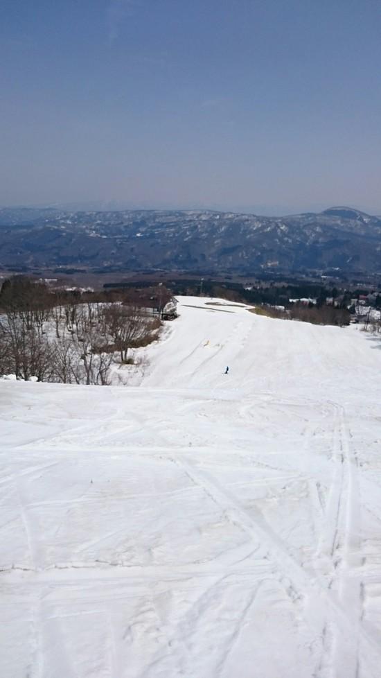 シャバ雪ガラガラ|赤倉温泉スキー場のクチコミ画像