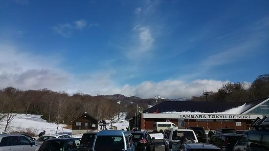 今シーズン初滑り|たんばらスキーパークのクチコミ画像