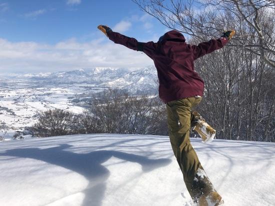 雪がイッパイ|石打丸山スキー場のクチコミ画像