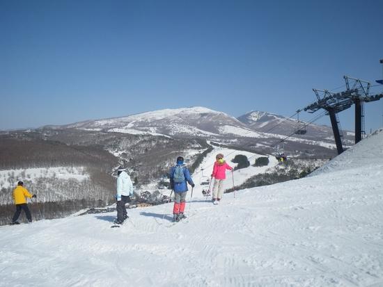 春スキーのようでした|菅平高原スノーリゾートのクチコミ画像1