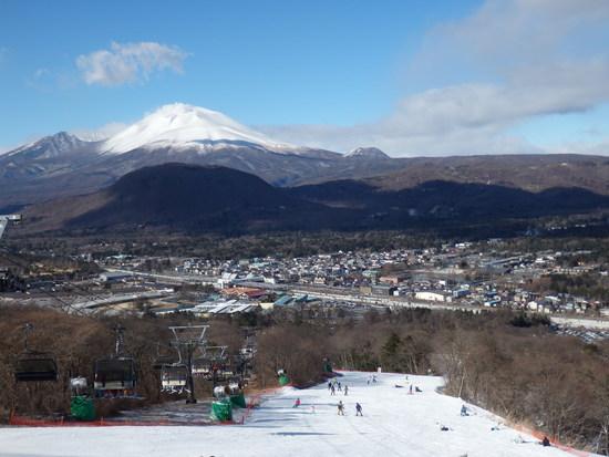 今シーズンの初滑りは軽プリ|軽井沢プリンスホテルスキー場のクチコミ画像2