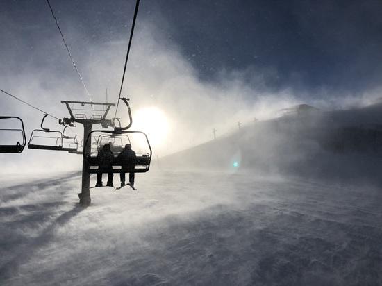 強風、だけど美しい。|白馬八方尾根スキー場のクチコミ画像