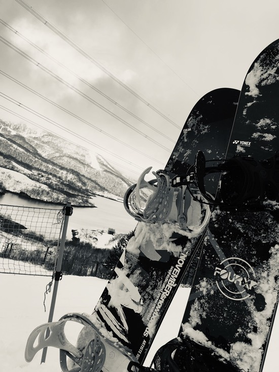平日とは思えない|かぐらスキー場のクチコミ画像