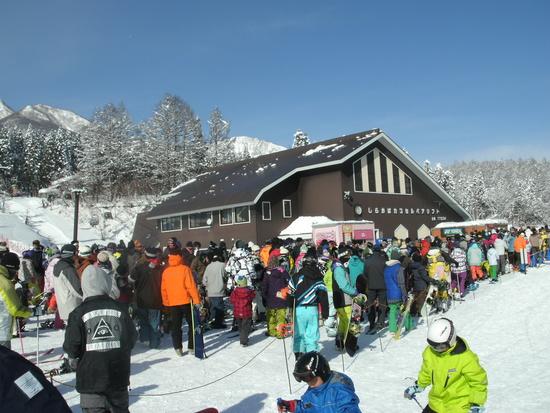 混んでたけど景色最高|池の平温泉スキー場のクチコミ画像