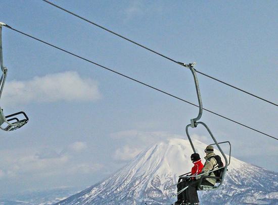 絶景!羊蹄山|ニセコアンヌプリ国際スキー場のクチコミ画像
