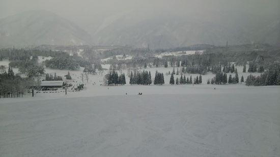 奥美濃で一番空いてるスキー場|荘川高原スキー場のクチコミ画像1