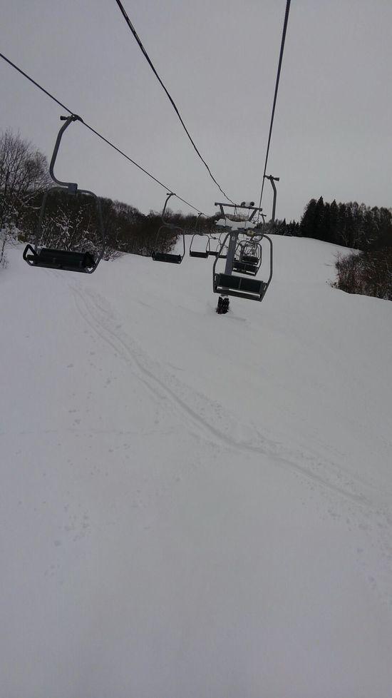 奥美濃で一番空いてるスキー場|荘川高原スキー場のクチコミ画像2