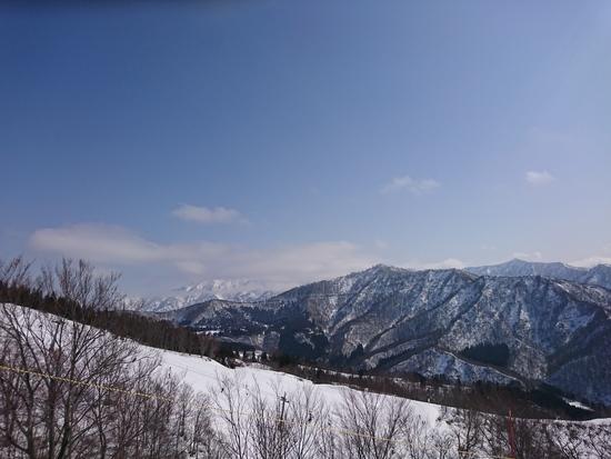 青い空と横に開けている広さ|岩原スキー場のクチコミ画像