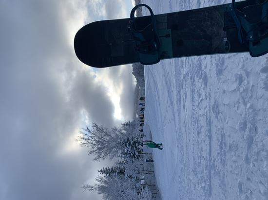 ゴンドラ降りてからの1枚 丸沼高原スキー場のクチコミ画像2