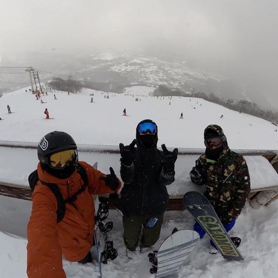 天気は悪いけど|白馬八方尾根スキー場のクチコミ画像
