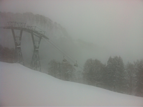 ガス&雪 でもコンディションOK|GALA湯沢スキー場のクチコミ画像
