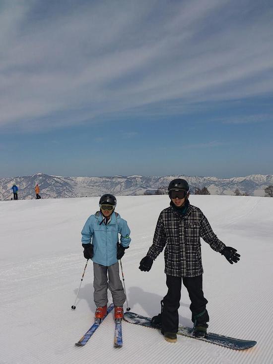 全面可|野沢温泉スキー場のクチコミ画像