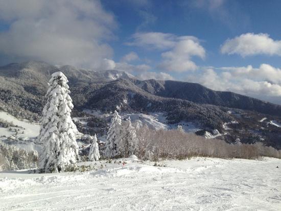 温泉持ってゲレンデもENJOY!|万座温泉スキー場のクチコミ画像