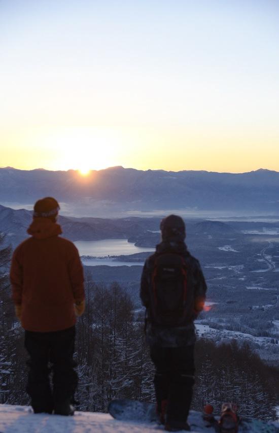 元旦御来光ファーストトラック|妙高杉ノ原スキー場のクチコミ画像