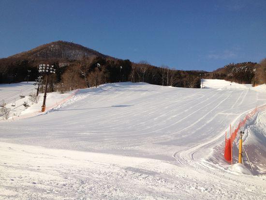 春スキーのようでした