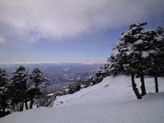 雪質良いですね。|川場スキー場のクチコミ画像