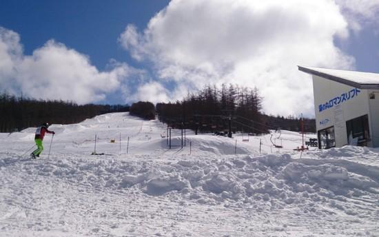 サラサラ雪で快走できました|湯の丸スキー場のクチコミ画像