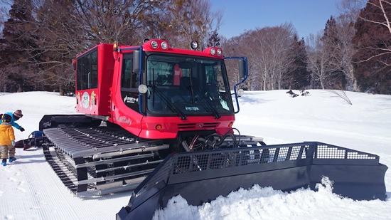 初雪上車|野沢温泉スキー場のクチコミ画像