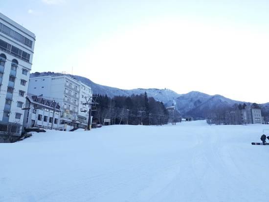 雪十分にありました。雪不足?|竜王スキーパークのクチコミ画像