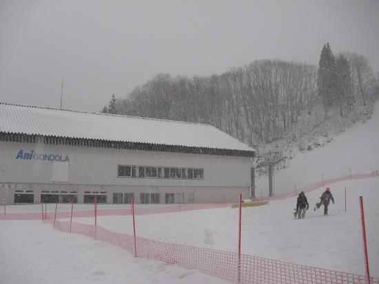 初滑りに行ってきました。|阿仁スキー場のクチコミ画像