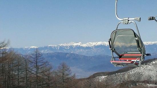 まだまだ雪はしまってます|湯の丸スキー場のクチコミ画像