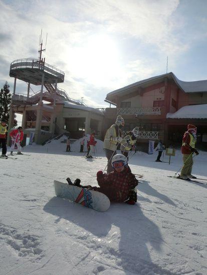 市内からのアクセスは良い!|牛岳温泉スキー場のクチコミ画像2